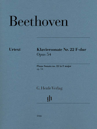 Product Cover for Piano Sonata No. 22 F Major Op. 54