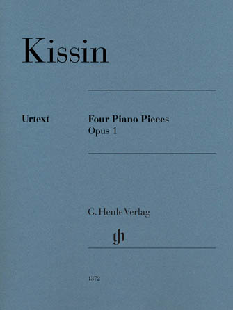 Product Cover for 4 Piano Pieces Op. 1