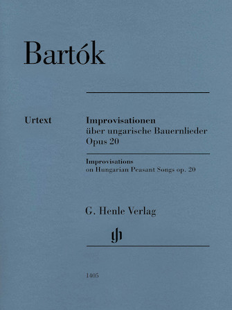 Product Cover for Improvisations on Hungarian Peasant Songs, Op. 20