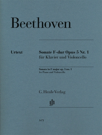 Product Cover for Cello Sonata in F Major, Op. 5, No. 1