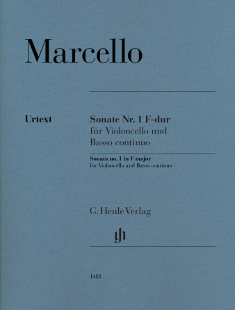 Product Cover for Sonata No. 1 in F Major for Violoncello and Basso Continuo