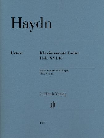 Product Cover for Piano Sonata in C Major, Hob. XVI: 48