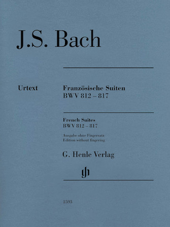 Product Cover for French Suites BWV 812-817