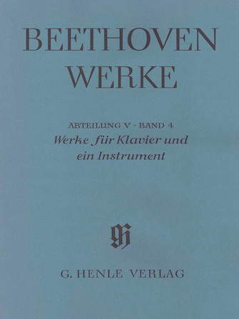 Works for Piano and One Instrument – Horn (Violoncello), Flute (Violin), Mandolin