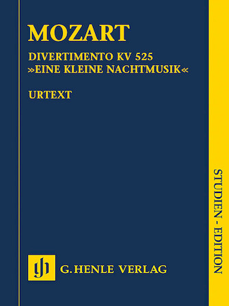 "Product Cover for Divertimento K525 ""Eine kleine Nachtmusik"""