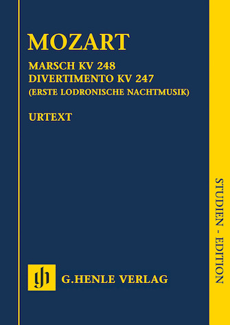 Product Cover for March K. 248, Divertimento K. 247