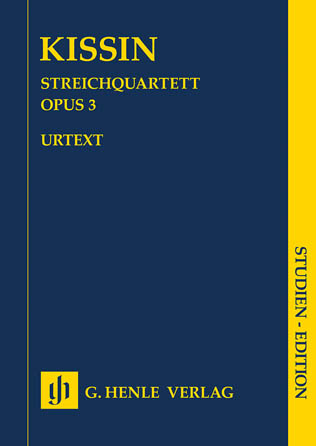 Product Cover for String Quartet Op. 3