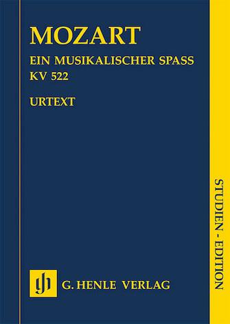 Ein Musikalischer Spass [A Musical Joke] K. 522