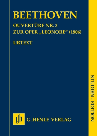 """Product Cover for Overture No. 3 for the Opera """"Leonore"""" (1806)"""