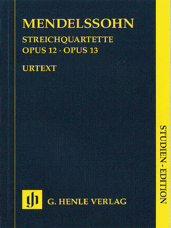 Product Cover for String Quartets Op. 12 and 13