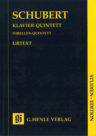 """Product Cover for Quintet A Major Op. Posth. 114 D 667 """"The Trout"""""""