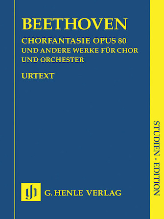 Product Cover for Works for Choir and Orchestra Op. 80, 112, 118, 121b, 122, WoO 95
