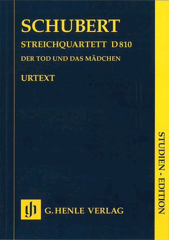"""Product Cover for String Quartet D minor D 810 """"The Death and the Maiden"""""""