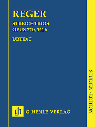 Product Cover for String Trios A minor Op. 77b and D minor Op. 141b