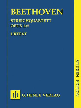 Product Cover for String Quartet F Major Op. 135