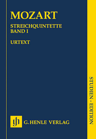 Product Cover for String Quintets – Volume I