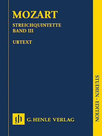 Product Cover for String Quintets – Volume III