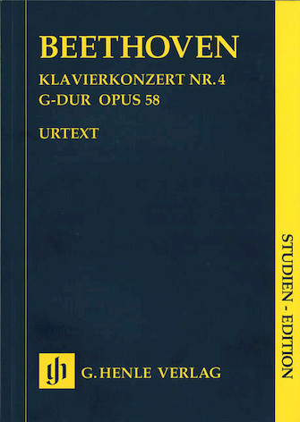 Product Cover for Piano Concerto G Major Op. 58, No. 4
