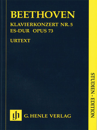 Product Cover for Concerto for Piano and Orchestra E Flat Major Op. 73, No. 5