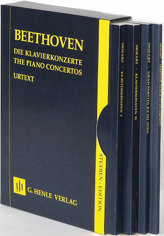 Product Cover for The Piano Concertos No. 1-5 in a Slipcase