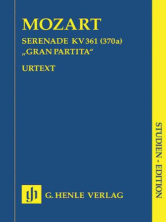 Product Cover for Gran Partita Bb Major K361