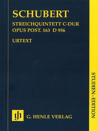 Product Cover for String Quintet C Major Op. Posth. 163 D 956