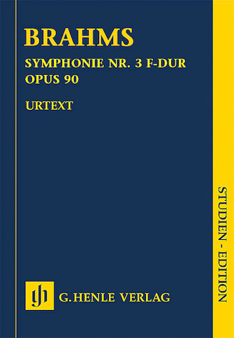 Product Cover for Johannes Brahms – Symphony No. 3 in F Major Op. 90