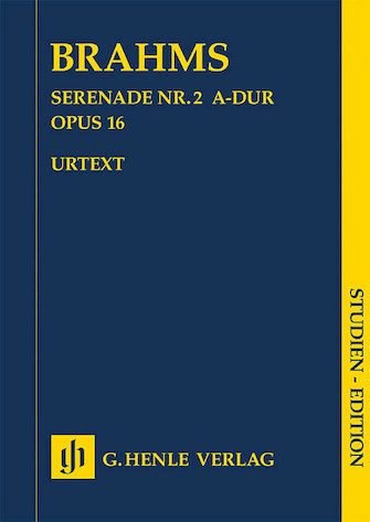 Product Cover for Serenade No. 2 in A Major, Op. 16