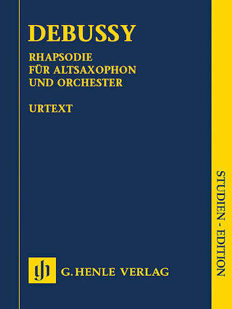 Product Cover for Rhapsody for Alto Saxophone and Orchestra