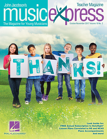 Product Cover for Thanks! Music Express Vol. 18 No. 2