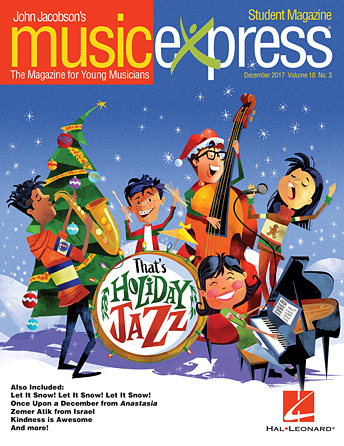That's Holiday Jazz Music Express Vol. 18 No. 3