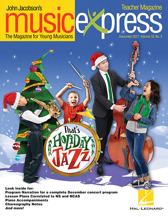 Product Cover for That's Holiday Jazz Music Express Vol. 18 No. 3