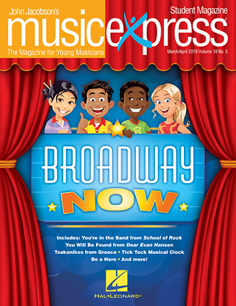 Broadway Now Music Express Vol. 18 No. 5