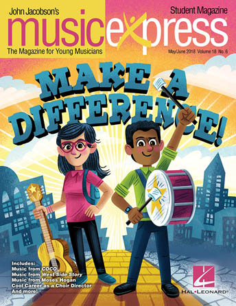 Product Cover for Make a Difference Music Express Vol. 18 No. 6