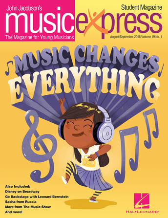 Music Changes Everything Music Express Vol. 19 No. 1