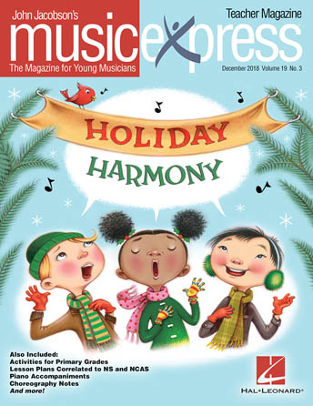 Product Cover for Holiday Harmony Music Express Vol. 19 No. 3