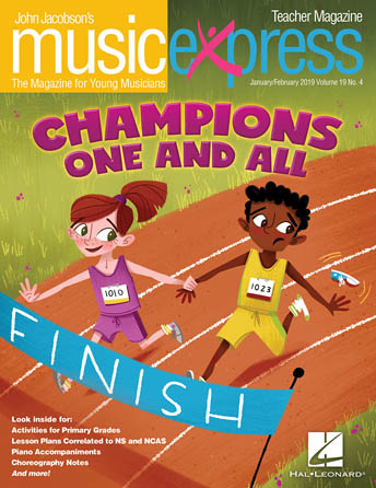 Product Cover for Champions One and All, Music Express Vol. 19 No. 4