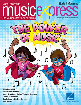 Product Cover for The Power of Music, Music Express Vol. 19 No. 5
