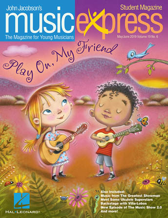Play On, My Friend Music Express Vol. 19 No. 6