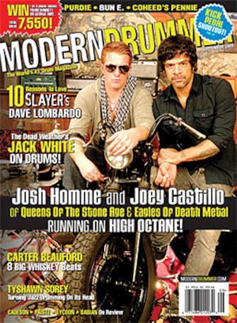 Modern Drummer Magazine Back Issue - September 2009