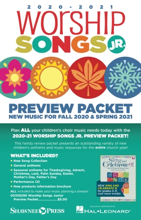 2020-2021 Worship Songs Junior Preview Packet
